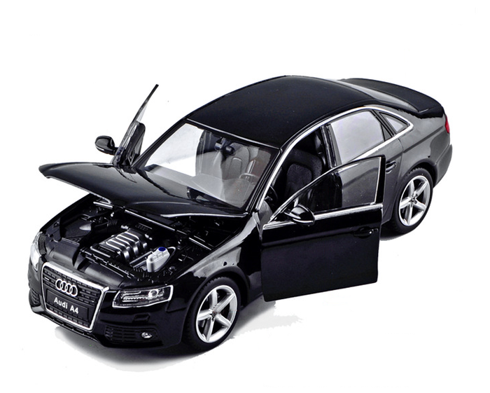 Audi A4 Model Car | Diecast 1:24 Scale Model Car