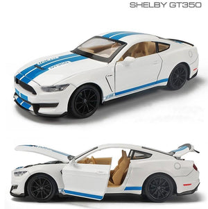 Kamory | Ford Shelby Cobra Racing GT350 Alloy Diecast Model Car