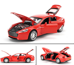 Red Version ~ 1:32 Scale Aston Martin Model Car | DB9 Diecast Toy Car