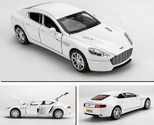 White Version ~ 1:32 Scale Aston Martin Model Car | DB9 Diecast Toy Car