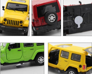 Scale Model Cars | Jeep Wrangler 4-Door