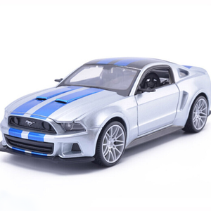 Kamory 2019 Ford Mustang Street Racer Diecast Model Car | 1:24 Scale | Kamory Model Car
