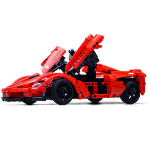 Building Block Remote Control Car | Red Storm Sports Car | Kamory-us