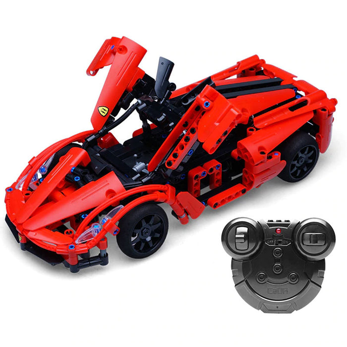 Building Block Remote Control Car | Red Storm Sports Car