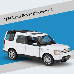 White Version ~ 1:24 Land Rover Discovers Model Cars Diecast Toy Car