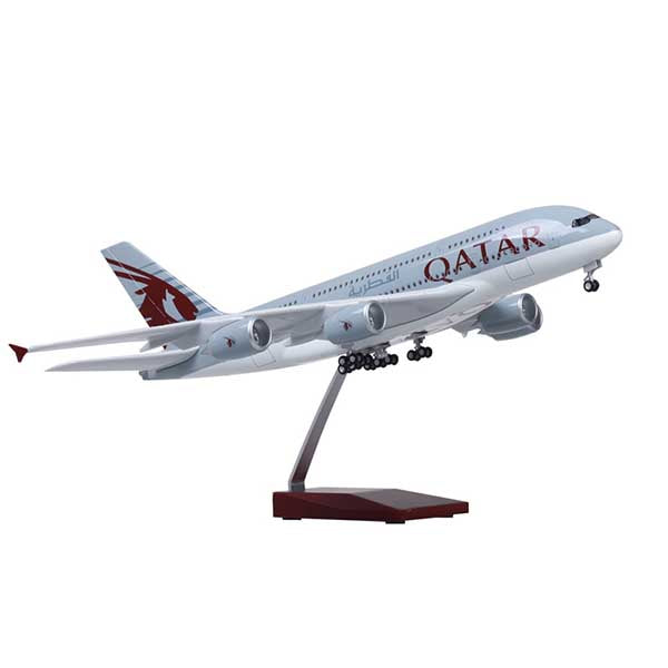 Model Commercial Airplanes Airbus A380 | Qatar Airways