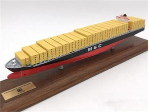 Exquisite Container Freighter Model Ship | Solid Color | Kamory-us