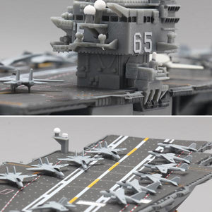 USS Enterprise Battleship Alloy Model