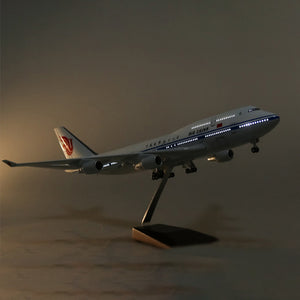 Boeing 747 Model Airplane | Air China Upgrade with LED