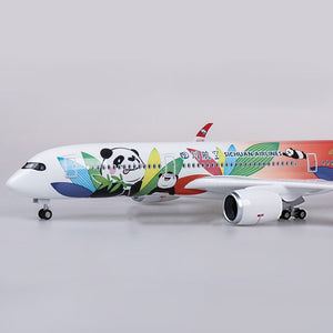 Airbus A350 Model Airplanes Panda Painted | Sichuan Airlines