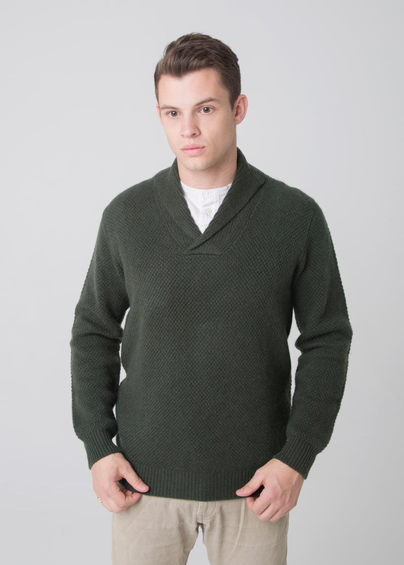 Moss Stitch Sweater