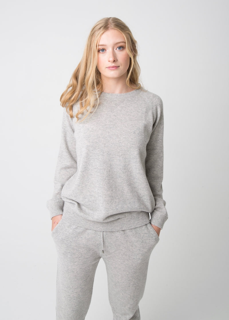 Cashmere Sweat Crew
