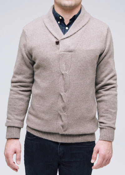 Cable Accent Sweater
