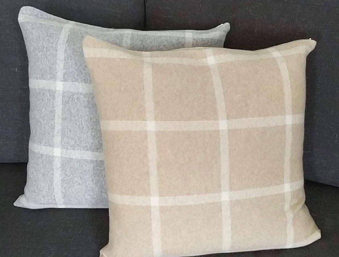 Jacquard Cashmere Pillow