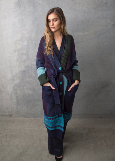 Patchwork Coat