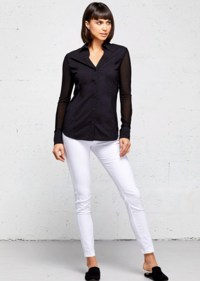 Beth Stretch Mess Shirt