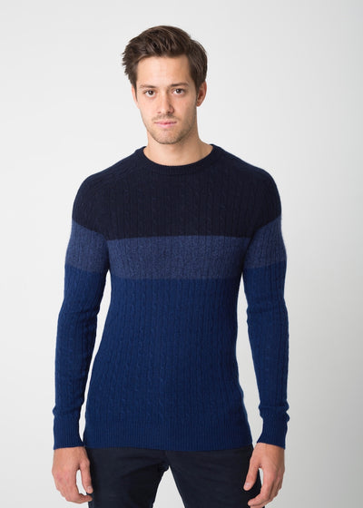 Tri-Cable Sweater