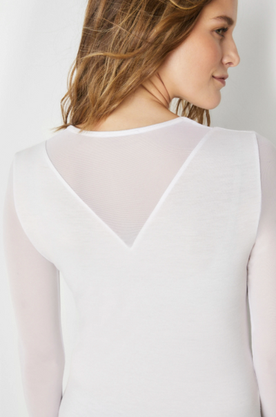 KIM Mesh Sleeve Top