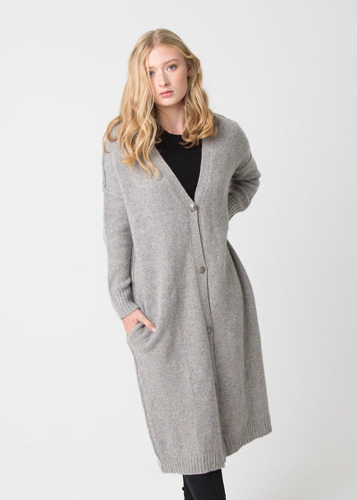 Chunky Coat with Button
