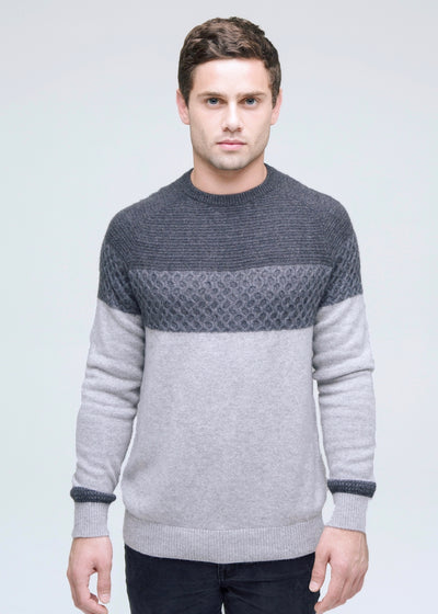 Textured Ski Sweater
