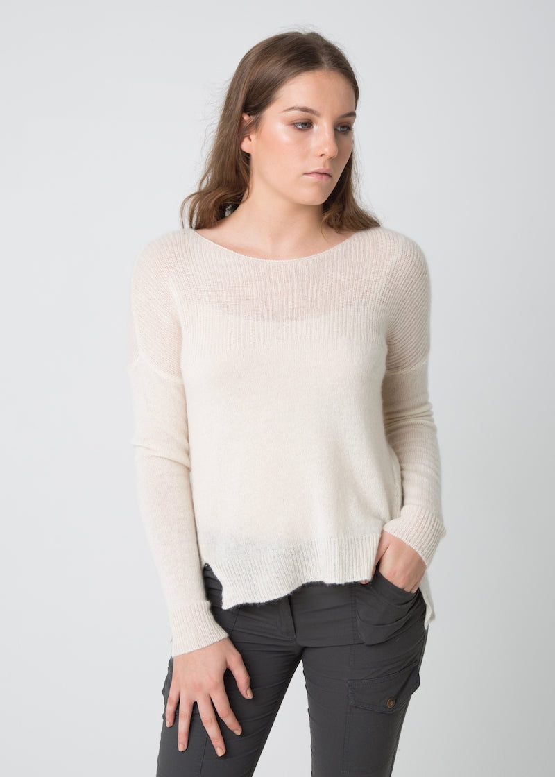 Light Summer Knit Top