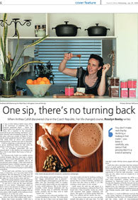 Canberra Times article about Real Chai (PDF 2.4MB)