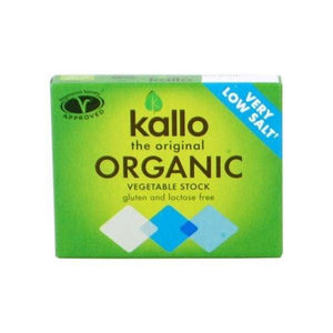Kallo Foods Organic Low Salt Vegetable Stock Cube 6x11g