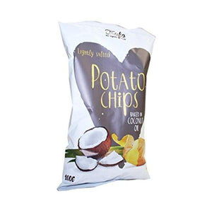Trafo Organic Crisps Fried In Coconut Oil 100g