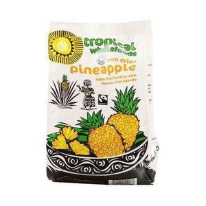 Tropical Wholefoods Fairtrade Dried Pineapple 100g