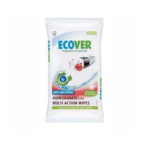 Ecover Antibacterial Multi Action Wipes 40