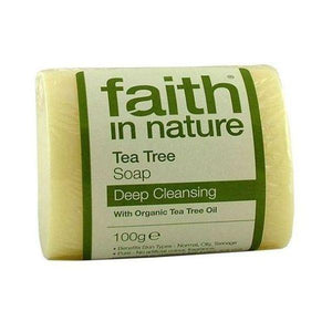 Faith In Nature Pure Vegetable Tea Tree Soap 100g