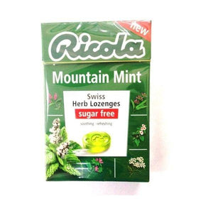 Ricola Mountain Mist Sugar Free 45g