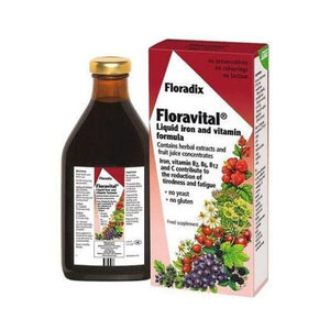 Salus (Uk) Floradix Floravital Liquid Iron Formula YF GF 250ml