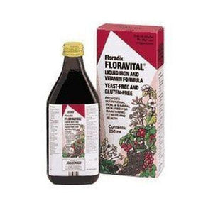 Salus (Uk) Floradix Floravital Liquid Iron Formula YF GF 500ml
