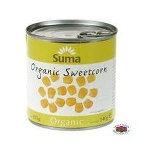 Suma Organic Sweetcorn - No Added Sugar 340g