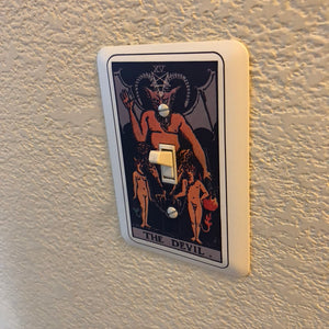 Tarot Card Light Switch Cover - Your Choice of Card