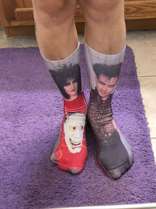 Robert and Siouxsie Full Printed Knee Socks