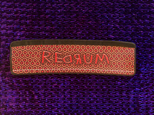 REDRUM The Shining Overlook Hotel - Gothic Horror Shopping Cart Handle Cover