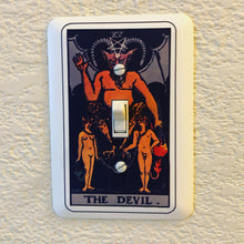 Load image into Gallery viewer, Tarot Card Light Switch Cover - Your Choice of Card
