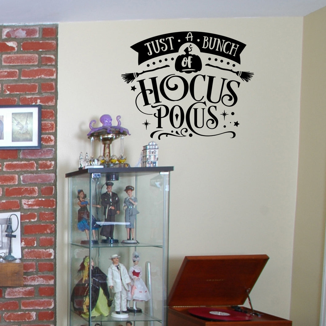 Just a Bunch of Hocus Pocus Wall Decal