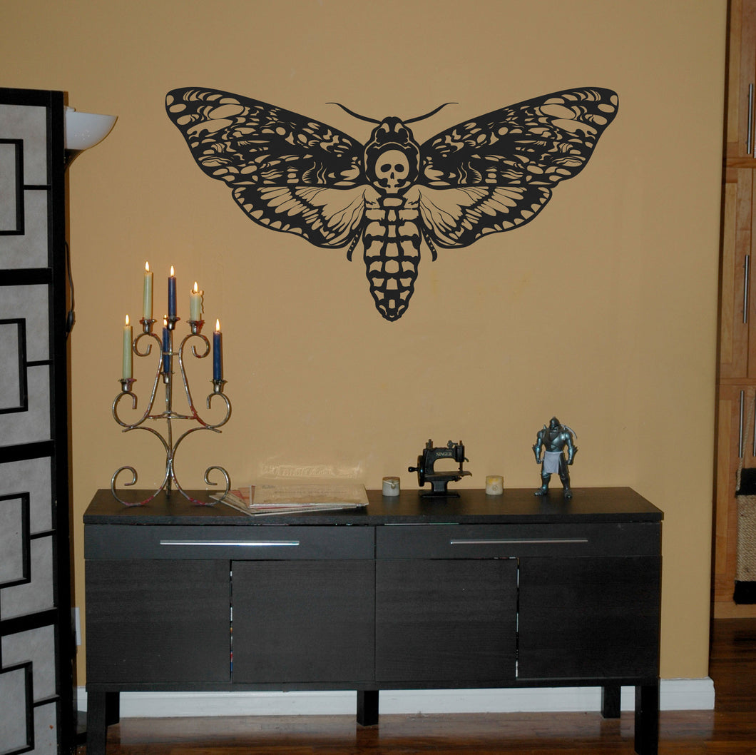 Deathhead Moth Wall Decal