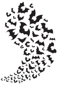 Flying Bats pack wall decals