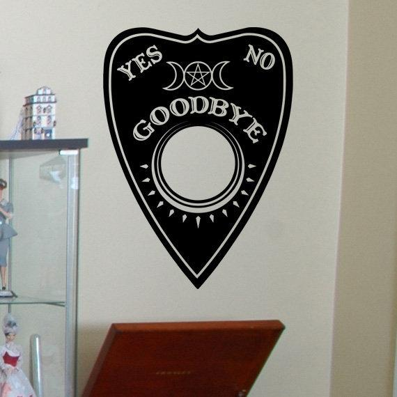Large Ouija Planchette Vinyl Art - Your Choice of Color