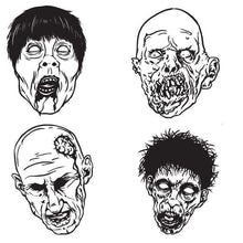 Load image into Gallery viewer, Zombie Fun Pack Vinyl Wall Decal - Pillbox Designs