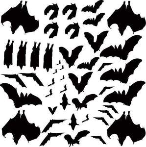 The Bat's Tree Vinyl Wall Decal - Pillbox Designs