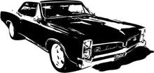 Load image into Gallery viewer, Pontiac GTO Muscle Car Vinyl Wall - Pillbox Designs