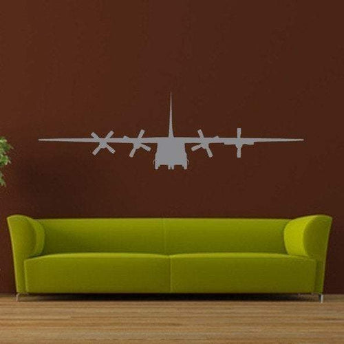 C130 Airplane/Large Vinyl Wall Decal - Pillbox Designs