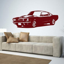 Load image into Gallery viewer, 1965 Ford Mustang Muscle Car/Vinyl Wall - Pillbox Designs