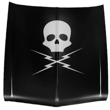 Load image into Gallery viewer, 2' X 2' Death Proof Skull and Bolts Vinyl Decal Car / Wall - Pillbox Designs
