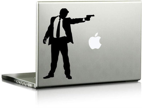 Gunman Vinyl Die Cut Decal - Pillbox Designs